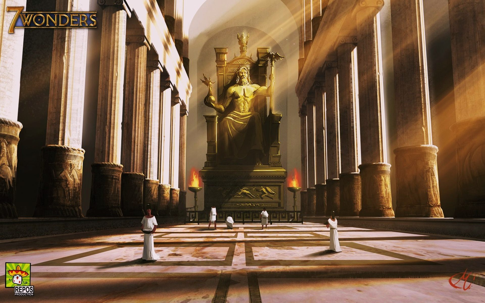 statue-of-zeus-at-olympia-wallpaper