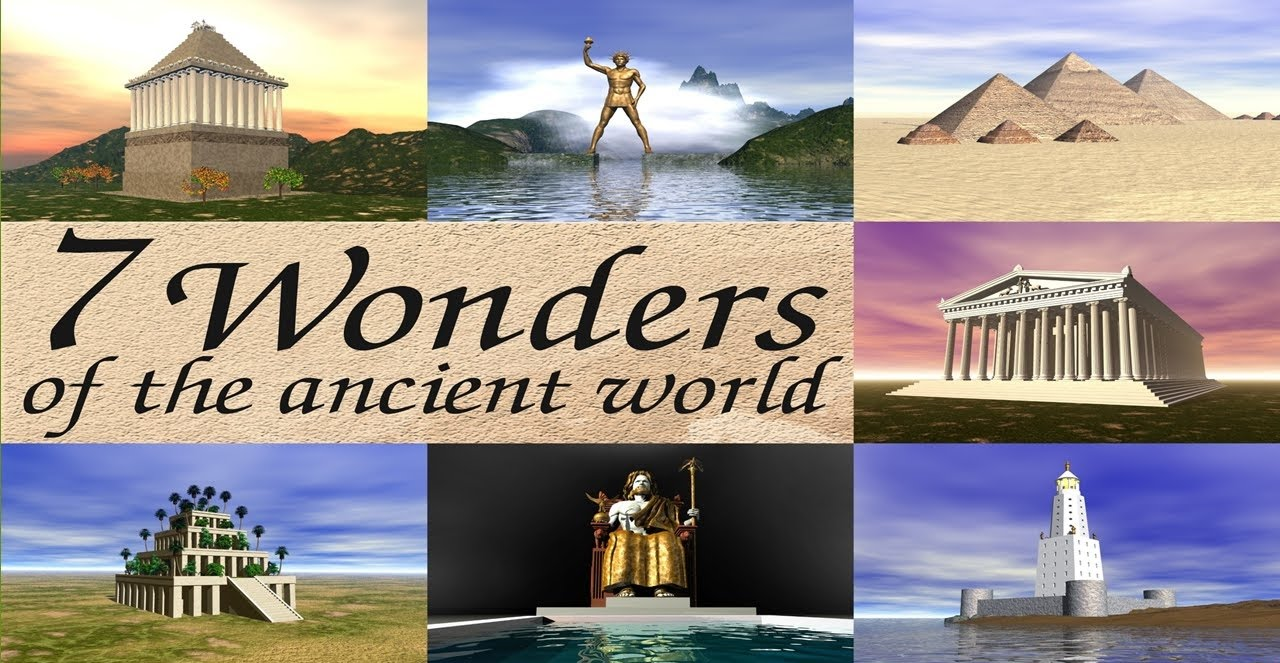 the old seven wonders of the word 7 wonders in 7 days